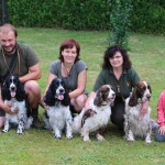 Belí a její potomci (zleva Kerd, Niké, Hubert, Belí, Giulian, Nero)