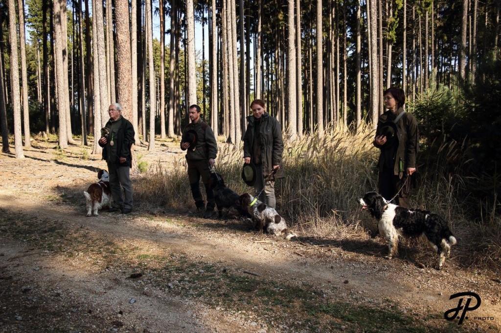 Nástup na lesní disciplíny